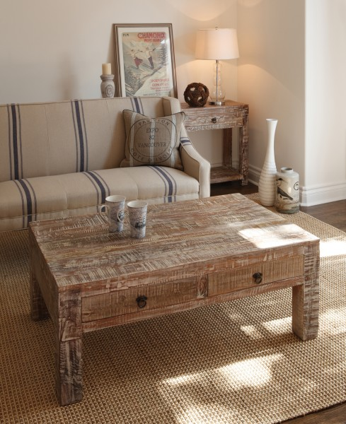 Ashley Furniture Distressed Coffee Table: Stoney Creek Furniture Blog