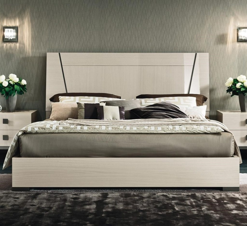 Mont Blanc King Low Profile Bed