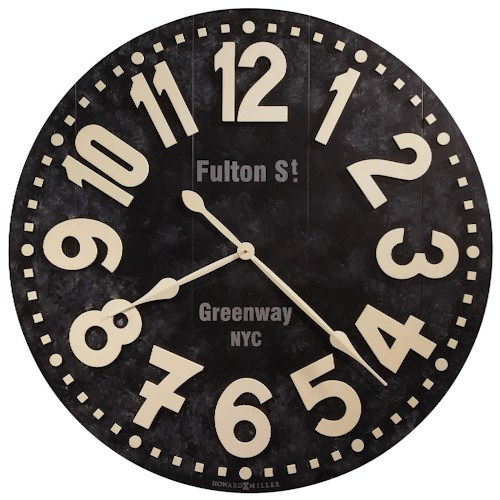 Home Accent - Fulton Street Wall Clock