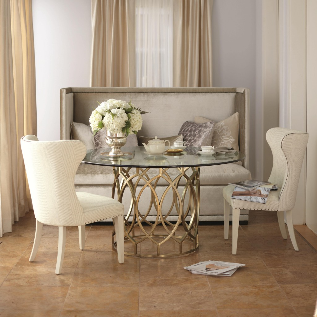 Dining room chairs with style stoney creek furniture blog for Salon bench