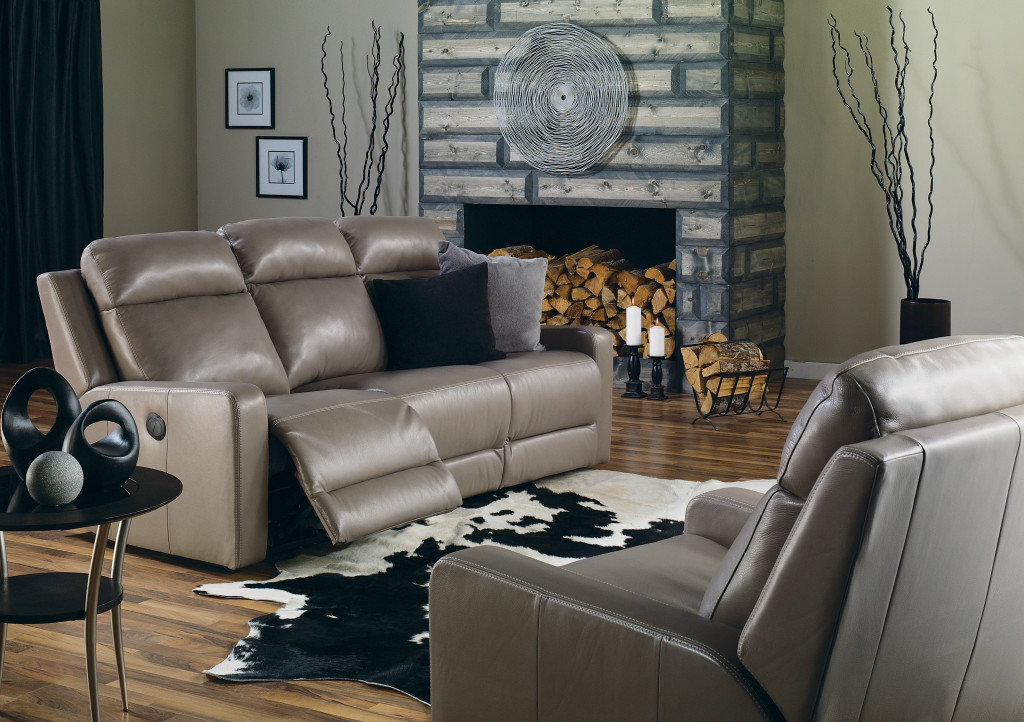 Leather Recliner Available At Stoney Creek Furniture
