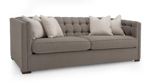 Tuxedo Style Sofa