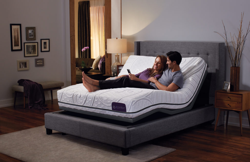 Lifestyle foundations offer maximum comfort.