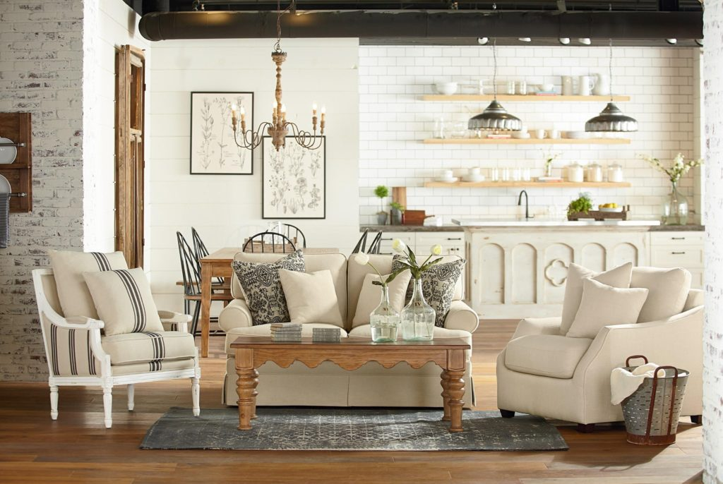 Magnolia Home Parlour Chair available at Stoney Creek Furniture