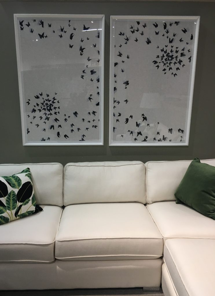 Wall art available at Stoney Creek Furniture.