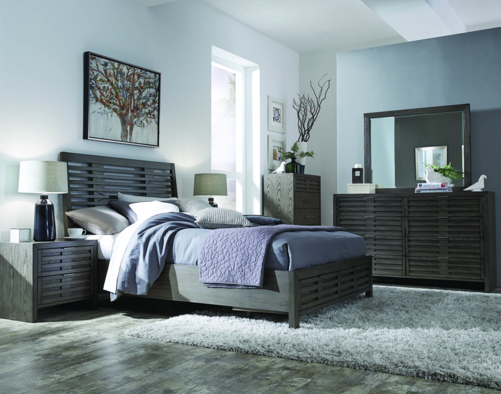 grey finished furnishings